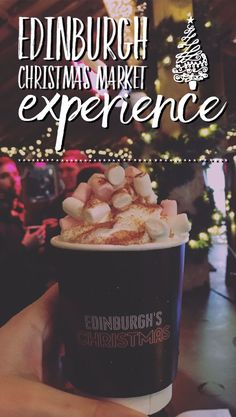 Visiting Edinburgh Christmas Market - what to expect? How to make the most of Edinburgh Christmas Market?