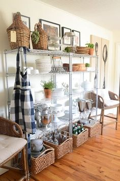 A Smart, Effective Wire Shelving Unit For Kitchen Storage | Effective,  Extra Storage And Lids