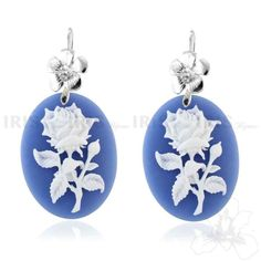 GRAND TRIANON - Orecchini Gioielli di Iris Bijoux Shop Online: www.irisbijoux.com #jewellry #earrings #cameo