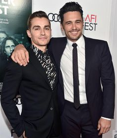 Love seeing #JamesFranco & #DaveFranco promoting #TheDisasterArtist together at #AFIFest.