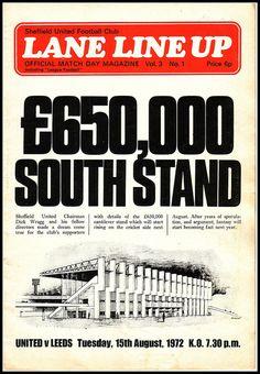 Football League Division One fixture. Score: Att: 40159 football nostalgia at footysphere Sheffield United Football, Sheffield United Fc, British Football, Best Football Team, Bramall Lane, Leeds United Fc, Blade, I Am Awesome, The Unit