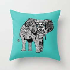 Design Sponge Throw Pillows : 1000+ images about elephant pillows on Pinterest Elephant pillow, Elephant throw pillow and ...