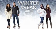 I just earned 3 coins in the 'Winter Wear Trivia' Challenge!