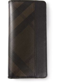 BURBERRY Check Wallet. #burberry #bags #leather #wallet #pvc #accessory