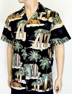 38ee7df1be Woody cars and surfboards Hawaiian shirt. Sweet design.  hawaiianshirt Aloha  Shirt
