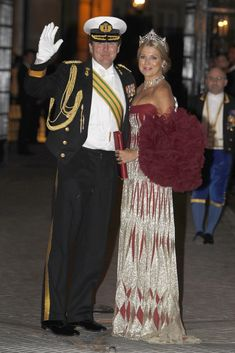 King Willem-Alexander and Queen Maxima of the Netherlands
