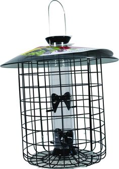 Opentip.com: Droll Yankees Sunflower Domed Cage 4 Port - Black - 15 Inch