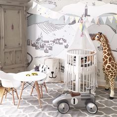 Baby room interior at www.jollyroom.se | #jollyroom