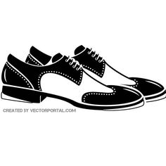 Step dance shoes vector image.