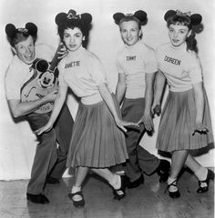 """Ms. Funicello won America's heart on television in """"The Mickey Mouse Club"""" and later captivated adolescent baby boomers in slightly spicy beach movies."""