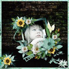 """""""Love Paradise"""" une collaboration de JosyCréations et ElyScrap"""