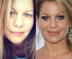 Candace Cameron Bure beautiful either way!