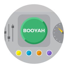 Sometimes you just need a little #BOOYAH  #button #icon #vector #iconography #graphicdesign #graphicdesigner #design #graphic #illustration #art #flatdesign #itisartime #instartist_ #illustree #iconaday #Art_Spotlight #arts_help #graphicdesigncentral #thedesigntip #designspiration #graphicgang #illustrationartists #illustrationage #illustrationfriday #thednalife #graphicroozane #graphicdesignblg #folioart #picame by huddeodesign