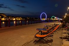 Quai des Antilles de nuit -2 Fair Grounds, France, Travel, Nantes, Viajes, Destinations, Traveling, Trips, French
