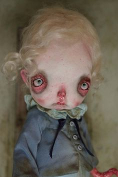 INTERMUNDIS, le blog officiel de Julien Martinez: 31 mars 2016 Creepy Art, Creepy Dolls, Fairy Dolls, Bjd Dolls, Trevor Brown, 31 Mars, Art Mignon, Mark Ryden, Audrey Kawasaki