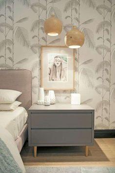 Arredare la camera da letto con i colori pastello - Camera da letto rosa e grigia