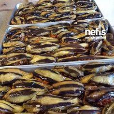 Karnıyarık (kış için) 3 No Gluten Diet, Turkish Recipes, Ethnic Recipes, Eggplant Dishes, Oven Dishes, Seasonal Food, Frozen Meals, Iftar, Winter Food