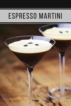 "British bartender Dick Bradsell invented this now-classic drink, a.k.a. the Vodka Espresso, at Fred's Club in London in the late '80s. Legend has it that Kate Moss asked for a drink that would ""wake me up and then f**k me up"" at the same time."