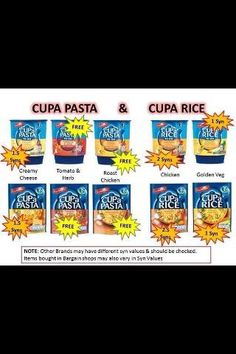 Batchelor'S cuppa pasta and cuppa rice (health snacks slimming world) Slimming World Syn Values, Slimming World Treats, Slimming World Tips, Slimming Word, Slimming World Recipes Syn Free, Slimming Eats, Syn Free Food, Health Snacks, Health Recipes