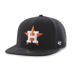 4192001d41d Houston Astros No Shot Captain Navy 47 Brand YOUTH Hat