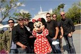 MercyMe with Minnie Mouse before Night of Joy at Disney's Magic Kingdom.