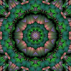 Flame Fractal Kaleidoscope