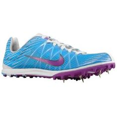 Nike Jana Star XC 6 - Women's - Track & Field - Shoes - Blue Glow/Blue Tint/Vivid Grape