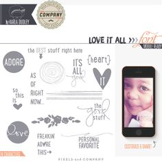 Love It All | mobile ready font