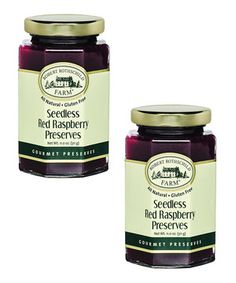 Another great find on #zulily! Seedless Red Raspberry Preserves - Set of Two by Robert Rothschild Farm #zulilyfinds