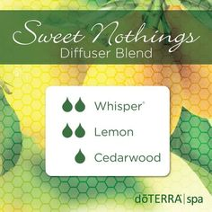 doTERRA Essential Oils Sweet Nothings Diffuser Blend
