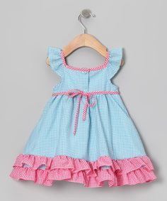 This charming frock will look smartly sweet on any little lady. Kissed with luxurious ruffles, fluttery sleeves and a handy back closure, this babydoll dress is one genius style choice.