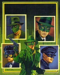 Covers Three Generations of the Green Hornet History