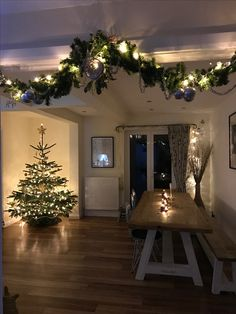 this would be perfect - Indoor Christmas Decorations Ideas