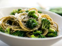 Spaghetti With Broccoli and Walnut/Ricotta Pesto Recipe - NYT Cooking Vegetarian Recipes, Cooking Recipes, Healthy Recipes, Healthy Options, Nytimes Recipes, Cooking Nytimes, Pasta With Walnuts, Walnut Pesto, Recipe Finder