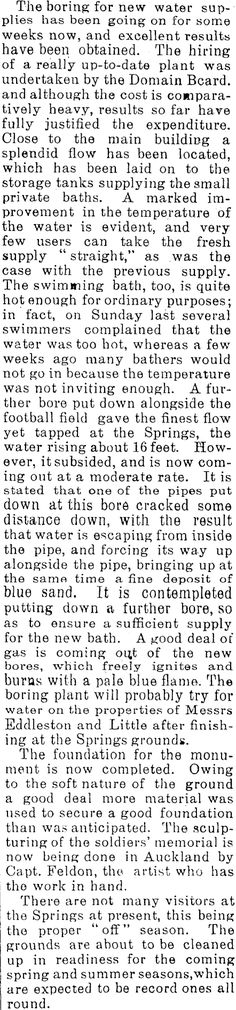 Article image Date Plant, Best Foundation, Hot Springs, History, Paper, Image, Spa Water, Historia