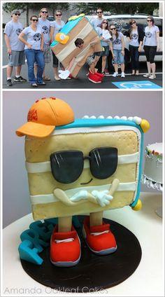 Amanda Oakleaf Cakes & Dr. Fresh Mascot