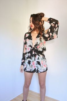 ONLY 2 LEFT Run Away With Me Jumpsuit. door BreathOfYouthVintage, $56,00