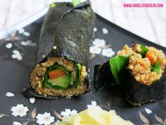 * Angel of Berlin: [cooks...] Quinoa Maki {Clean Eating Starter} {vegan, gfree}