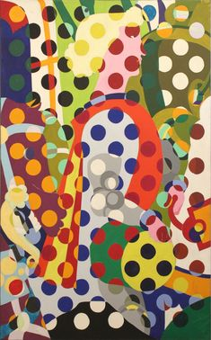 Alain Jacquet - Camouflage Uccello, 1963