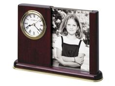 Howard Miller Portrait Caddy Clock   Engravable   Personalized