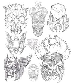 Part2: I rarely look back. My insatiable appetite for discovery and the ongoing battle within for growth is grueling. It forces this aggressive forward momentum that leaves little room for reflection or appreciation. Doing a little organizing this morning of illustrative work. #pencil #sketch #tiger #monkey #gorilla #skull #eagle #bull #rodeo #NFR #alwaysoutnumbered #illustration #drawing #studiolife #art #sweyda #pirate #alphapredator #megatron #decepticon #transformers