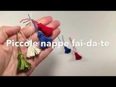 Come fare le nappe con una forchetta . Idea creativa fai da te per creare piccole nappine - YouTube