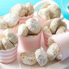 Pecan Sandies Cookies Recipe from Taste of Home -- shared by Debbie Carlson of San Diego, California