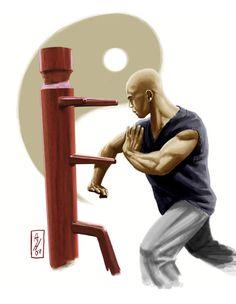 Kung Fu Warrior by deralbi