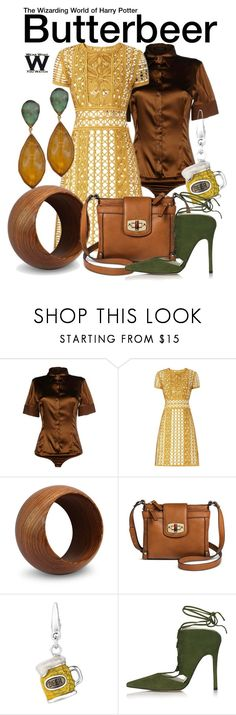"""""""The Wizarding World of Harry Potter"""" by wearwhatyouwatch ❤ liked on Polyvore featuring Flavio Castellani, Burberry, NOVICA, Merona, Topshop, Jona, harrypotter, themepark and universalorlando"""