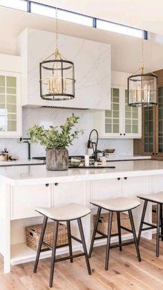 Home Decor Kitchen, New Kitchen, Space Kitchen, Kitchen Ideas, Kitchen Living, Island Kitchen, Kitchen Pantry, Kitchen Layout, Kitchen Rug