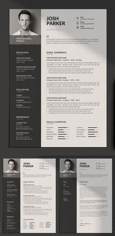 Clean resume template, Resume design template, Resume templates, Minimalist resume template, Cv resume template, Clean resume -  Resume Templates for lasting impression  In current employment market,  -  #Cleanresume #template