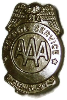 Vintage AAA Patrol Service Award Pin Badge School Safety Crossing Guard School Safety, Service Awards, History Photos, Pin Badges, Cool Items, Vintage Pictures, Shark, Globe, Personalized Items