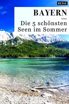 Seen in Bayern: Die 5 schönsten Seen im Sommer – Best Europe Destinations Europe Destinations, Europa Tour, Summer Family Pictures, Beautiful Places, Beautiful Pictures, Road Trip, Royal Caribbean Cruise, Summer Travel, Vacation Travel
