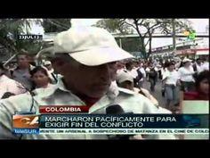 Más de 8 000 personas marcharon en Popayán, la capital del Cauca, en solidaridad con las comunidades indígenas que exigen la salida de militares y guerrilleros de ese departamento. Provenientes de toda Colombia, los manifestantes señalaron que la demanda de la sociedad civil es que se busque una salida política al conflicto armado.